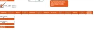 Urenregistratie in Excel